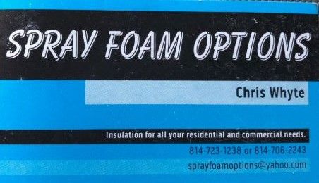 Spray Foam Options