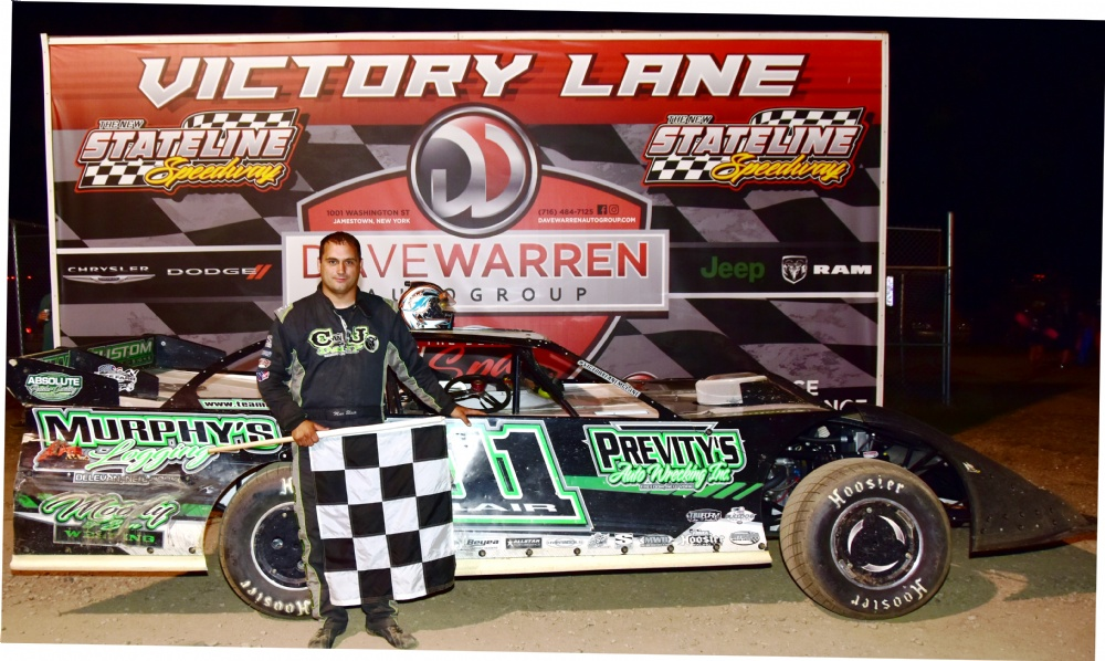 Blair Scores World Of Outlaw WIN!